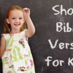 Short Bible Verses for Kids (with coloring pages)