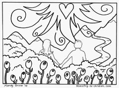 Day 6 Creation Coloring Sheet