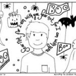 """Do Not Fear"" Christian Coloring Pages for Halloween"