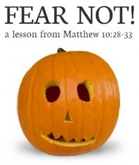 """""""Fear Not"""" Bible lesson for kids"""