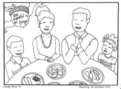 Free Printable Thanksgiving Coloring Sheets for Kids