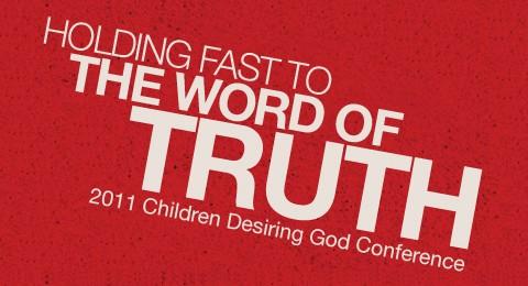Children Desiring God Conference Notes