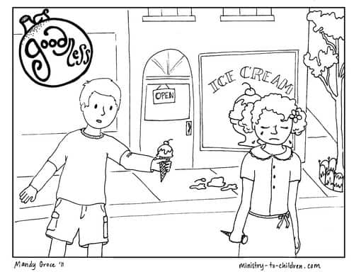 Goodness Coloring Page for Children