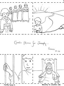 Joseph Coloring Pages