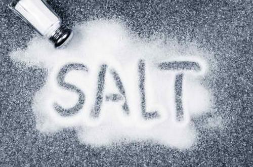 Spilled Salt Shaker
