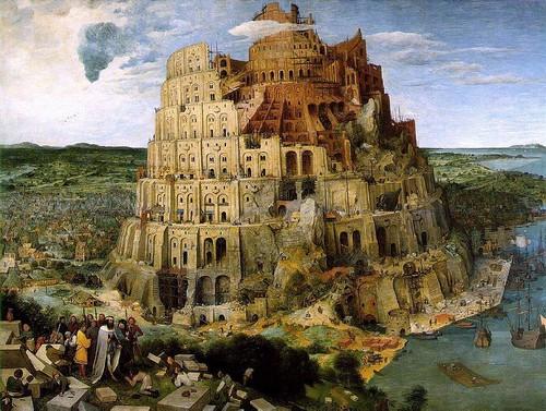 Tower of Babel Illustration