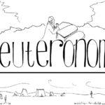 """Deuteronomy"" Bible Coloring Page"