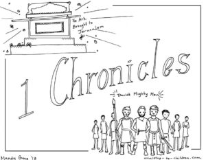 1 Chronicles Coloring Page