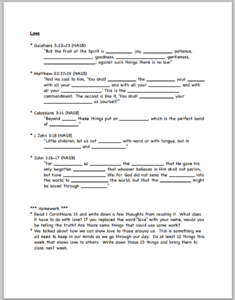 fruit-worksheets