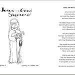 Poem about Jesus the Good Shepherd