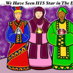"""Wise Men Follow His Star"" Coloring Page"