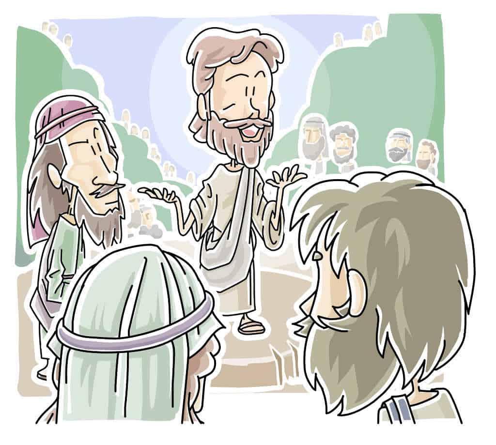 Jesus Teaching,