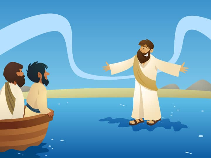 Bible Lesson: Jesus Walks on Water