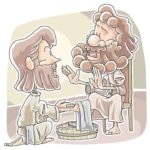 Jesus Washes the Disciples Feet (John 13:1-17) Preschool Lesson