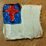 """""""Christian Flag"""" Snack  & Craft Idea for July 4th"""