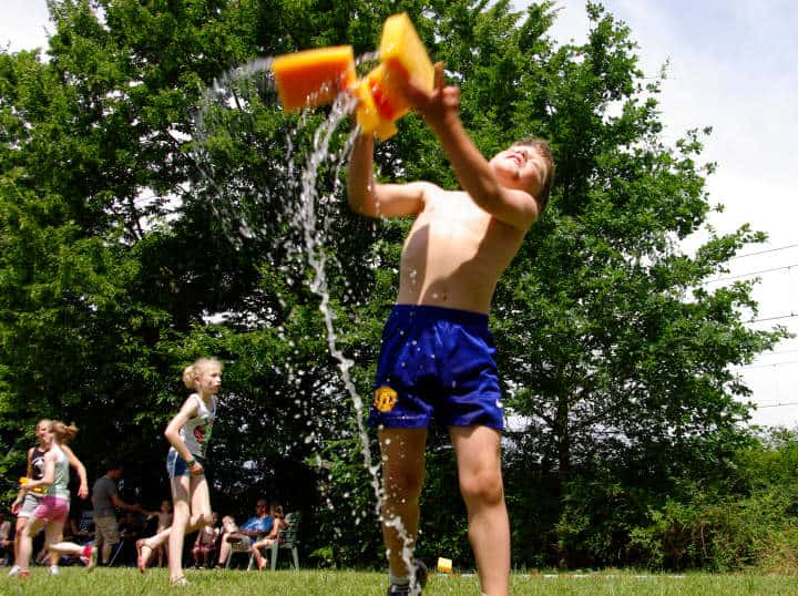 Summer Splash: Using Water Games to Teach the Gospel