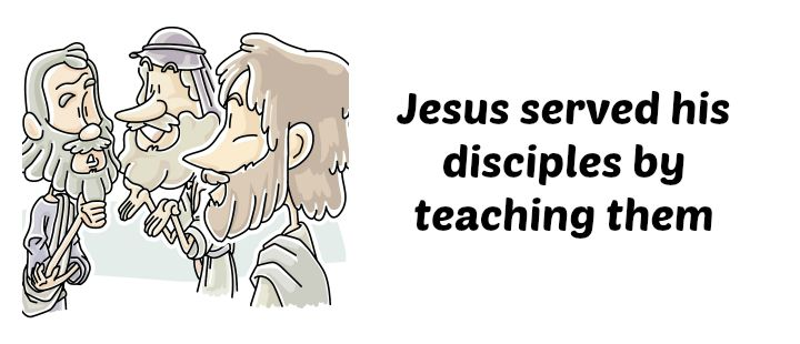 Lesson: Jesus Served His Disciples (Servanthood for Kids #4)