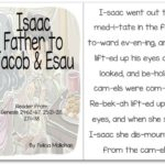 """""""Isaac, Father of Jacob & Esau"""" Story for Early Readers"""