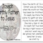 """""""Joseph: Jesus' Earthly Father"""" Story for Early Readers"""