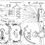 """""""Ask, Seek, Knock"""" Coloring Pages from Matthew 7:7-8"""