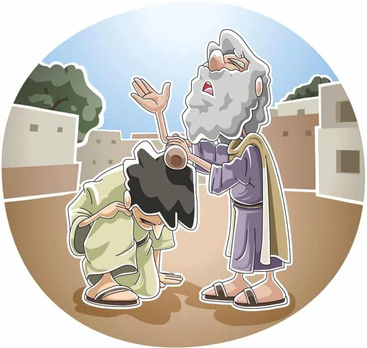 Saul Becomes King (1 Samuel 8) Preschool Bible Lesson