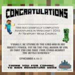 "Free ""Minecraft"" VBS Theme & Curriculum"