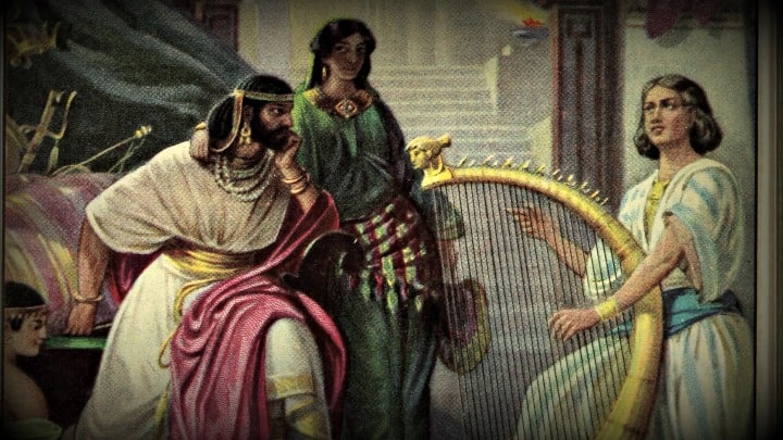 David Spares Saul's Life (1 Samuel 26:5-25) Preschool Bible Lesson