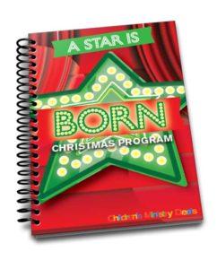 A Star Is Born Christmas Program