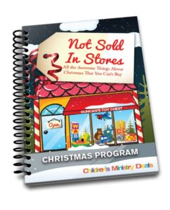 Not Sold In Stores Christmas Program