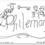 """Philemon"" Bible Book Coloring Page"