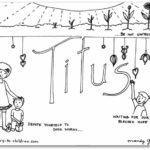 """Titus"" Bible Book Coloring Page"