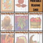 Autumn / Fall Bible Reading Logs for Kids (Free Printable)