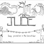 """Jude"" Bible Book Coloring Page"