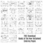 New Testament Coloring Pages (free download all 27 books)