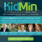 Group Kidmin Conference: 13 Things You'll Love