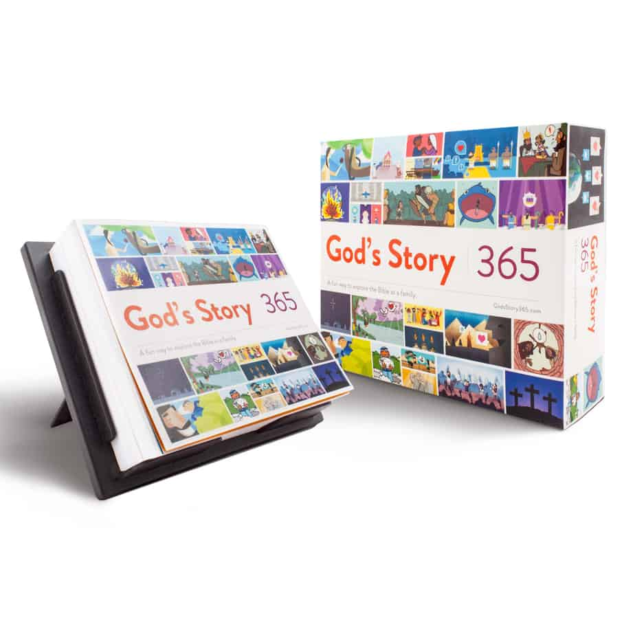 Giveaway + Discount Code for ?God?s Story 365?