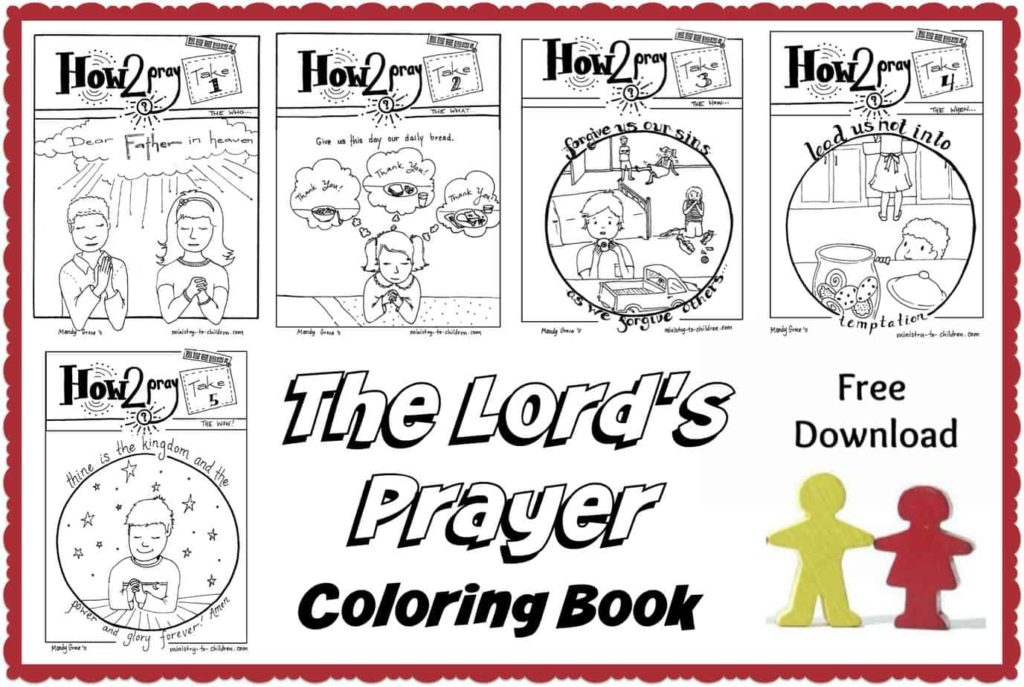 The Lord's Prayer Coloring Pages