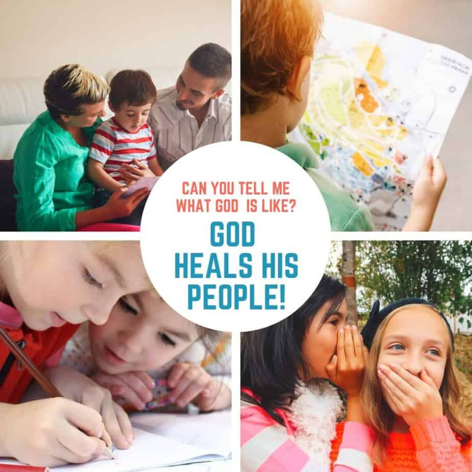 God Heals His People (Numbers 21) Lesson #13 in What is God Like?